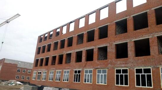 Школу на 1224 места в воронежском райцентре сдадут к августу 2022 года