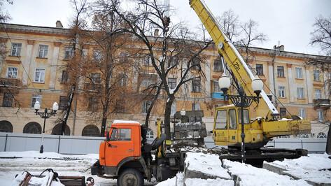 На 1,5 месяца закроют для движения участок улицы в Центральном районе Воронежа