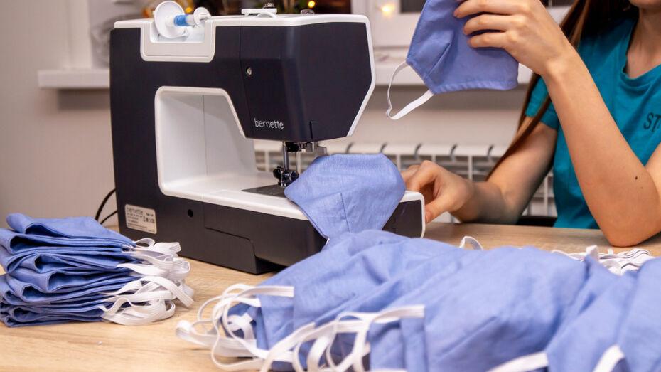 Воронежские волонтеры начали поиск швей для бесплатного пошива масок
