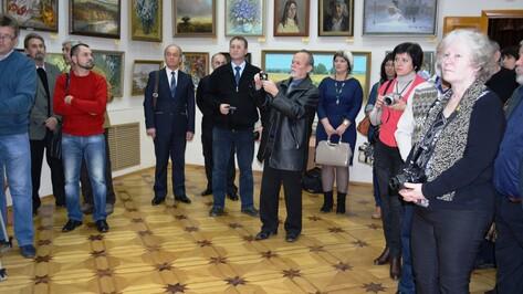 В Острогожском историко-художественном музее открылся вернисаж