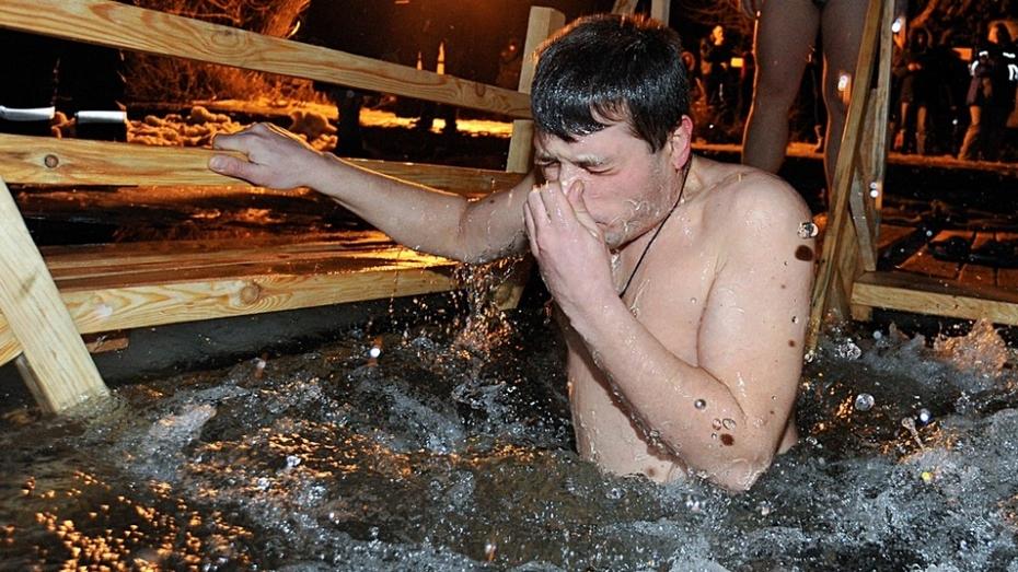 Крещение в Воронеже: Левый берег (ФОТО)