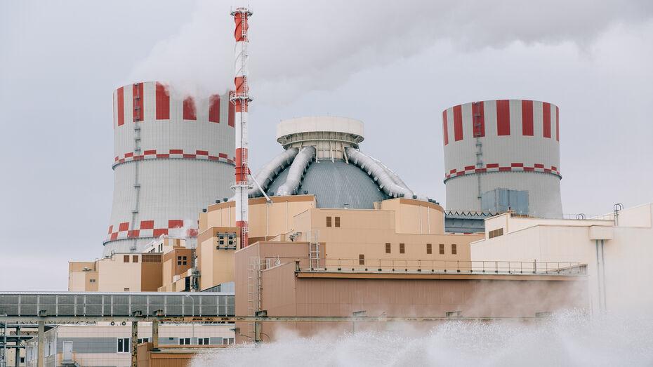 Нововоронежская АЭС выработала в апреле более 1,8 млрд кВт*ч электроэнергии