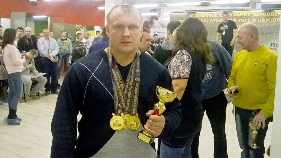 Таловский спортсмен завоевал 3 медали на чемпионате Черноземья