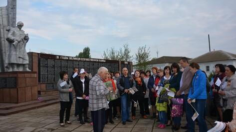 Жители Кантемировского района отметили 9 Мая песенным флешмобом