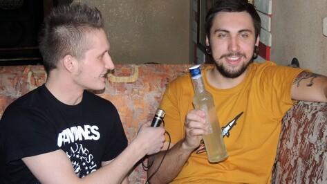 Максу+100500 в Воронеже подарили литр хреновухи