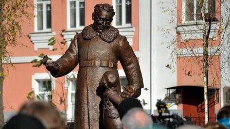 В Воронеже открылся памятник Самуилу Маршаку