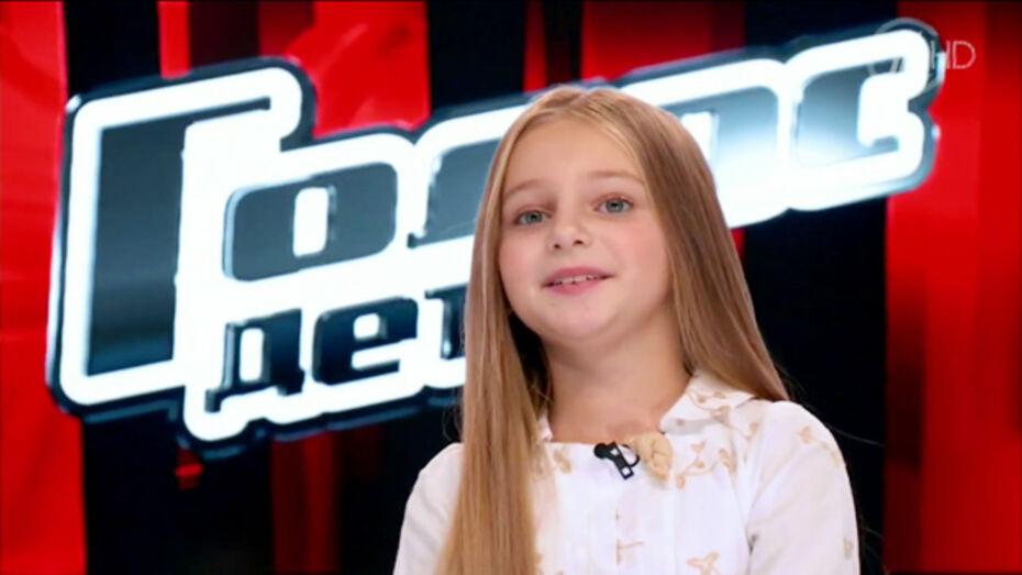 На «Детском голосе» воронежская школьница оказалась в команде Макса Фадеева