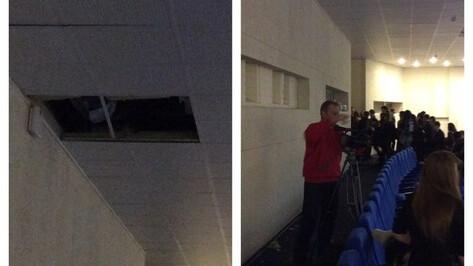 Студент ВГУ упал с высоты в зрительный зал на репетиции «Весны»