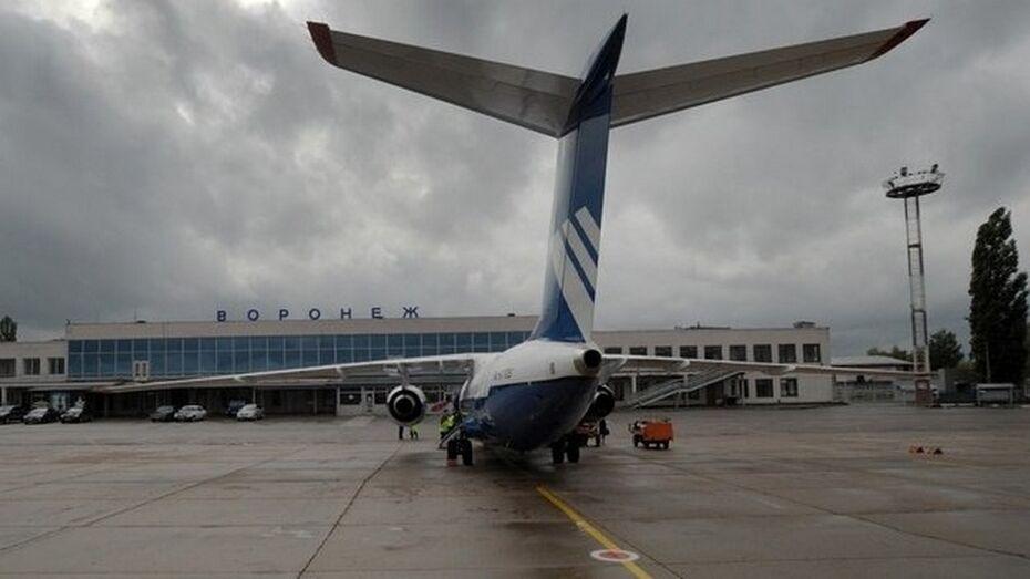 Из-за снегопада в Москве задержан рейс в Воронеж