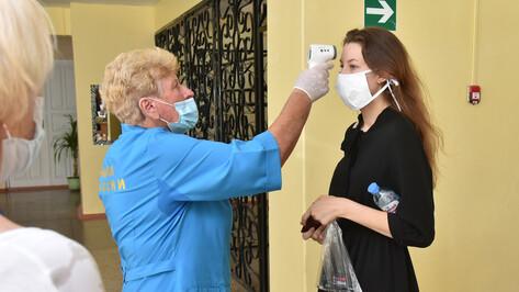 На входе в школы Воронежской области начнут измерять температуру