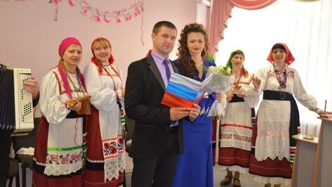 В Верхнехавском ЗАГСе на Красную горку вступила в брак 1 пара