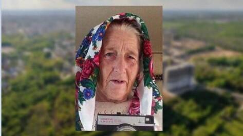 Пропавшая 84-летняя воронежская пенсионерка вернулась домой