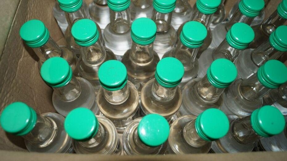 В Новохоперском районе с начала года полицейские выявили 13 точек сбыта паленой водки