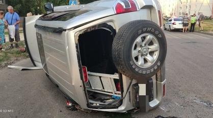 В ДТП на улице Ростовской в Воронеже пострадали 2 детей и 2 взрослых
