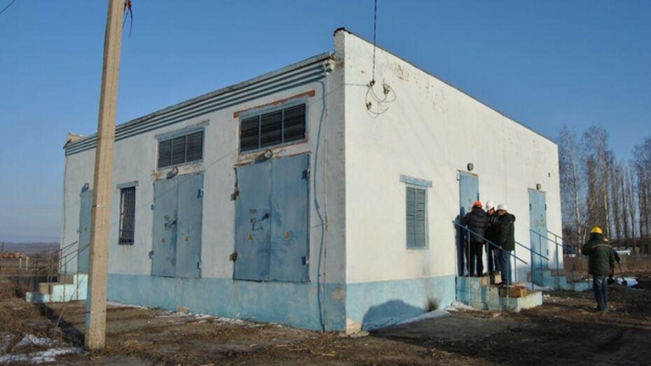 В Семилуках запустили новый распределительный пункт для снабжения города электричеством