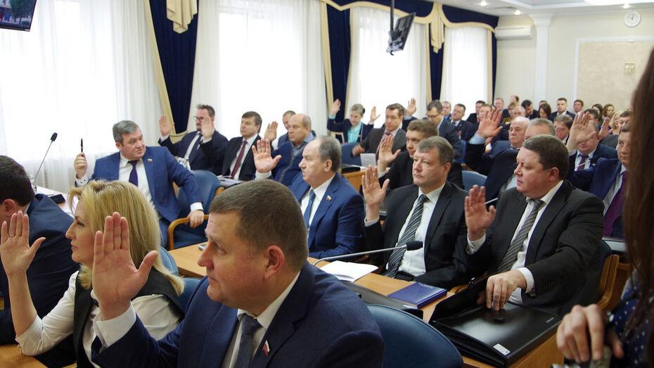 В Воронеже определились самые богатые и бедные по итогам 2019 года депутаты гордумы