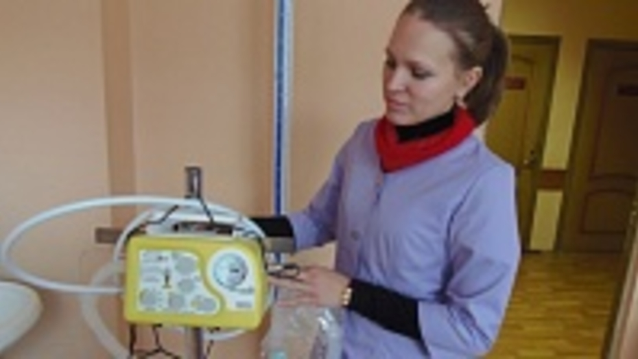 Верхнемамонская районная больница приобрела аппарат искусственной вентиляции легких