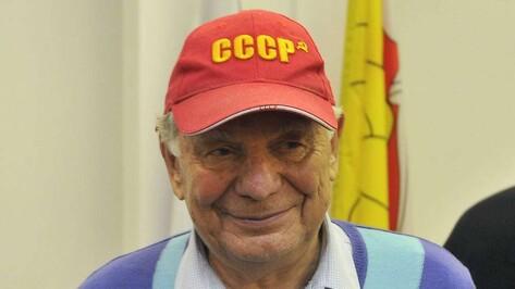 Нобелевский лауреат Жорес Алферов приехал в Воронеж с супругой Тамарой