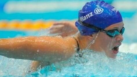 Воронежская пловчиха завоевала семь «золотых» медалей на Чемпионате России