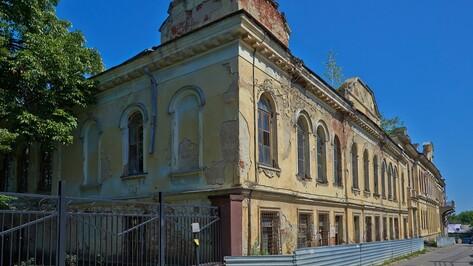 В Воронеже разработали проект реставрации усадьбы Тулинова-Вигеля