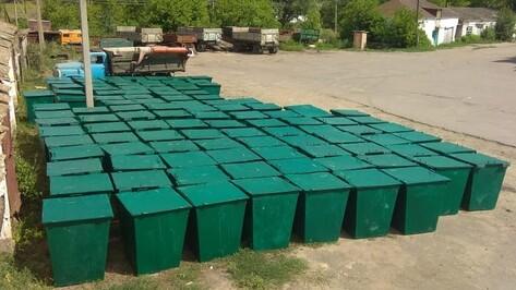 В Калачеевском районе установят около 1,5 тыс мусорных контейнеров