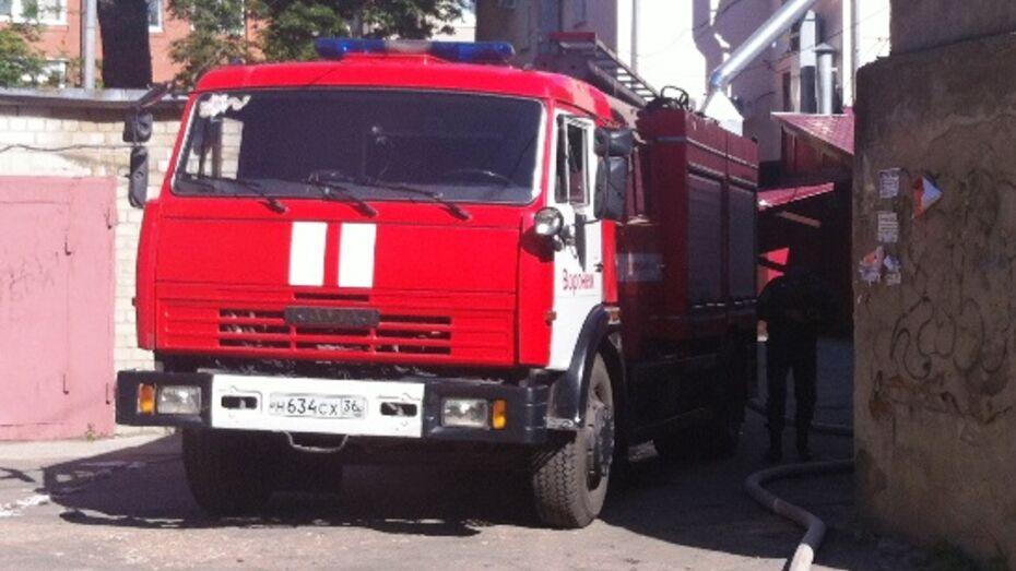 Причиной пожара в Воронеже на улице Комиссаржевская стало короткое замыкание