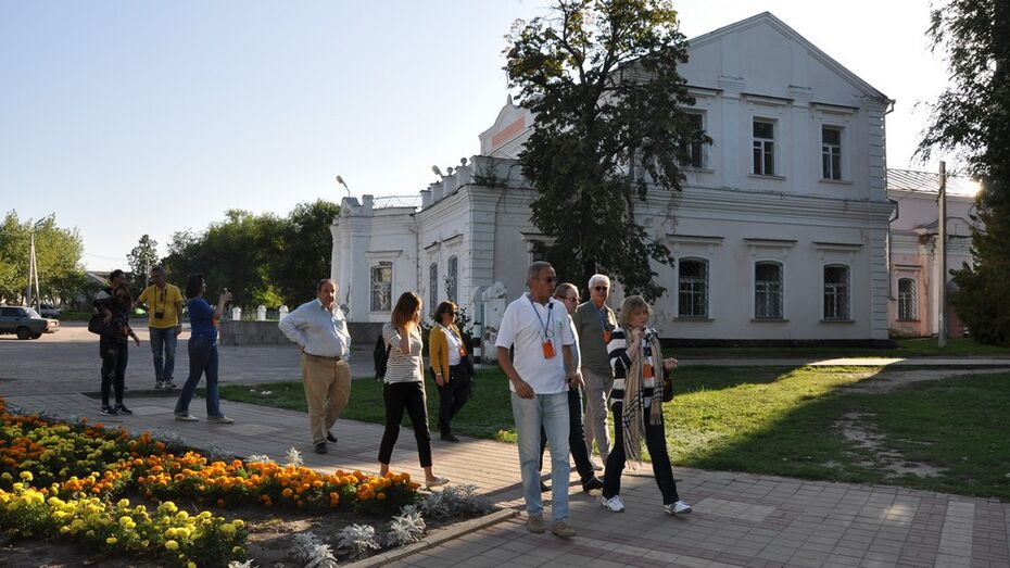 Павловск посетила делегация из Италии