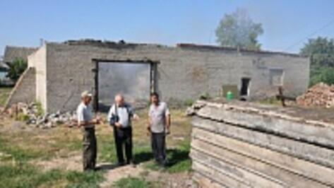 В Большом Самовце Эртильского района началась реконструкция котельной под пожарное депо