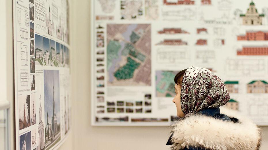 В Воронеже открылась выставка православного зодчества