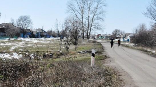 В репьевском селе Платава впервые появится тротуар