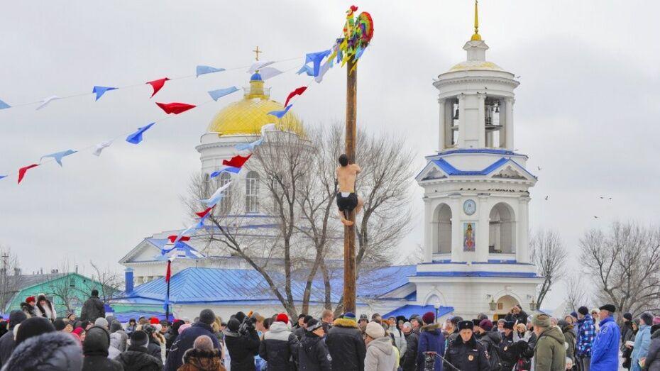 Мэрия Воронежа опубликовала программу Масленицы-2017