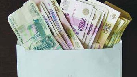 В Воронежской области порядка 150 тысяч работников «на бумаге» получают зарплату ниже прожиточного минимума