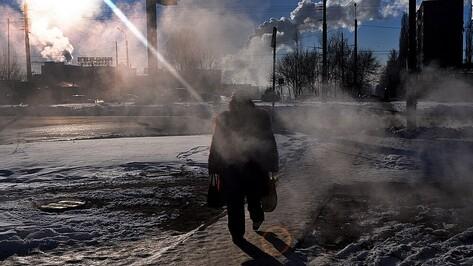Воронежцев ждет морозная рабочая неделя