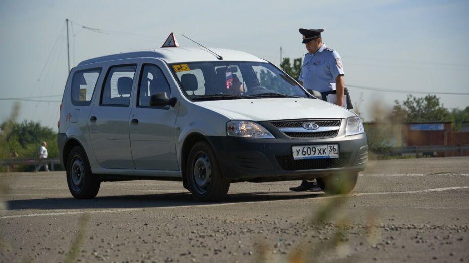 В Воронеже ГИБДД устроит массовую проверку водителей на нарушение правил