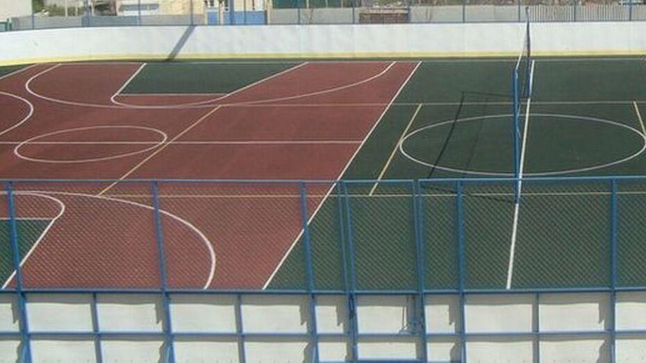 В лискинском селе Петропавловка построят многофункциональную спортплощадку