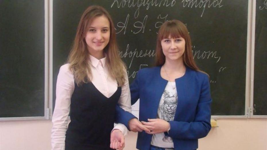 Ученицы хохольского лицея победили в областной предметной олимпиаде