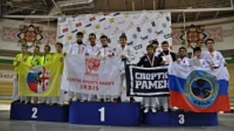 Воронежские каратисты завоевали 6 медалей международного турнира