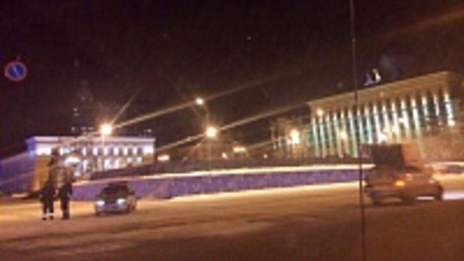 В Воронеже в связи с морозами ГИБДД перешло на усиленный режим
