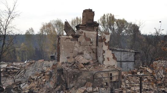Погорельцам павловской Николаевки оформили заявления на оказание матпомощи