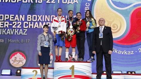 Воронежская спортсменка взяла «серебро» на чемпионате Европы по боксу