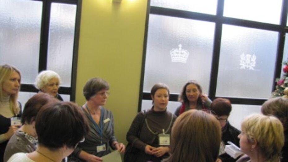 Воронежские библиотекари обменялись опытом с коллегами из Англии и Шотландии