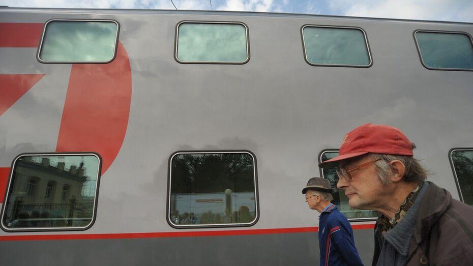 РЖД закажет двухэтажные вагоны для маршрута Москва-Воронеж