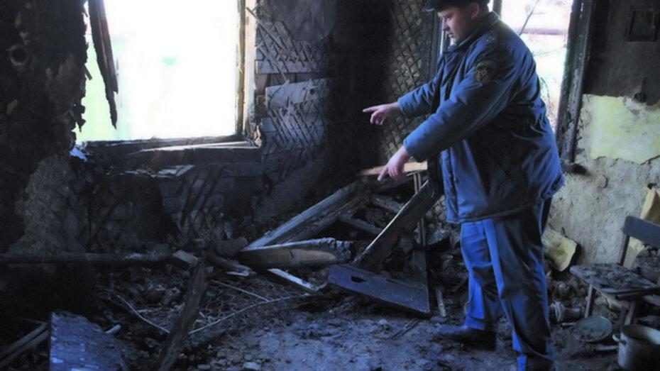 В Калаче пустяковый пожар унес жизни трех человек
