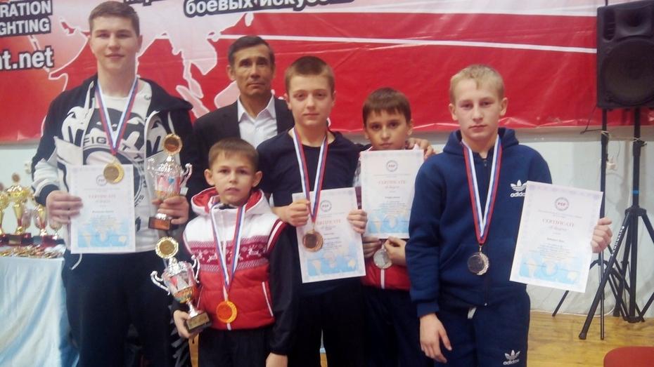 Лискинцы взяли 5 медалей по рукопашному бою на первенстве Евразии