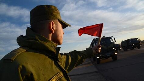 Военная техника прибыла в Воронеж для участия в параде Победы