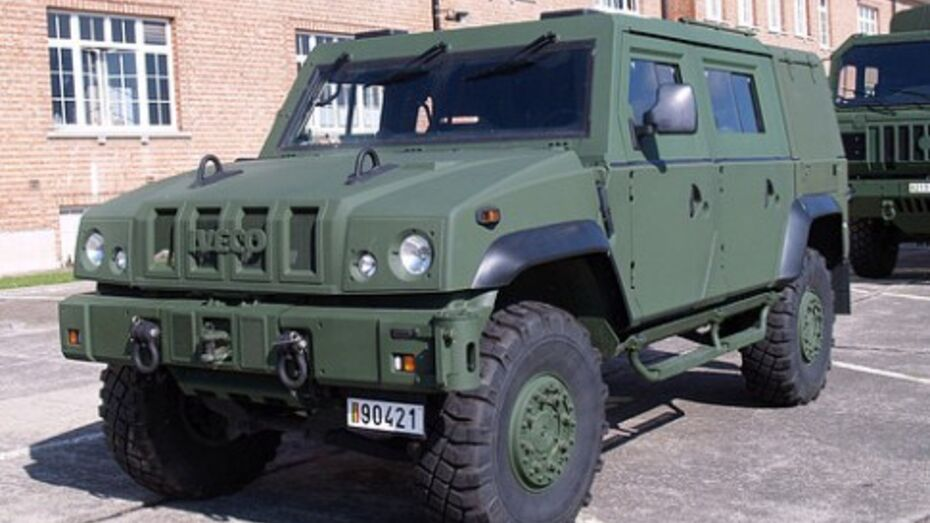 Производство бронеавтомобилей Iveco будет перемещено из Воронежа в Набережные Челны