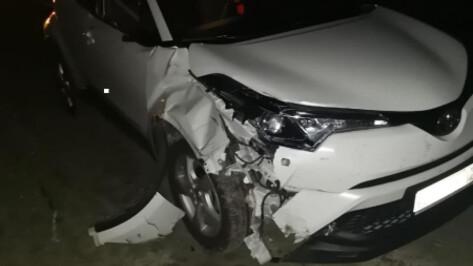 В Воронежской области в ночной аварии погиб велосипедист