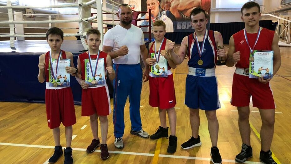 Лискинские боксеры получили 2 «золота» открытого первенства Богучарского района