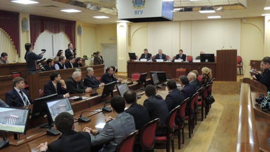Воронежские ученые, создавшие машину для тушения пожаров землей, получили областную премию