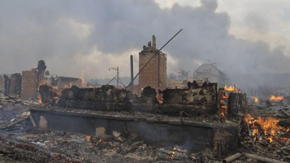 В Воронежской области в своем доме сгорел 89-летний одноногий инвалид
